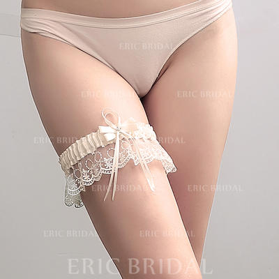 Garters Women Wedding/Casual Polyester With Bowknot/Lace Garter (104196511)