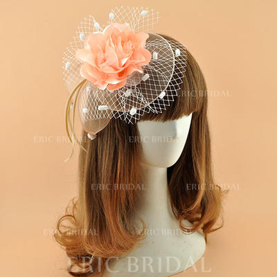 Polyester With Feather Fascinators Elegant Ladies' Hats (196194878)