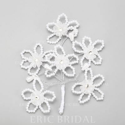 """Hairpins Wedding/Special Occasion Alloy/Imitation Pearls 4.53""""(Approx.11.5cm) 4.92""""(Approx.12.5cm) Headpieces (042156746)"""