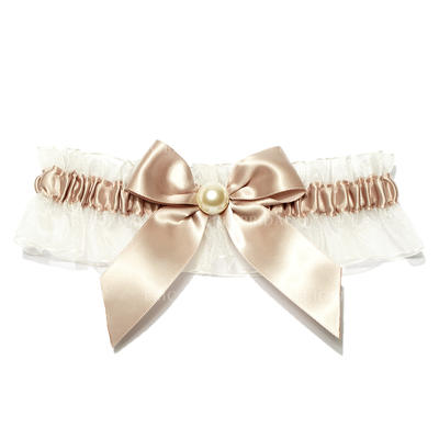 Garters Women Wedding/Special Occasion Satin With Pearl Garter (104195979)