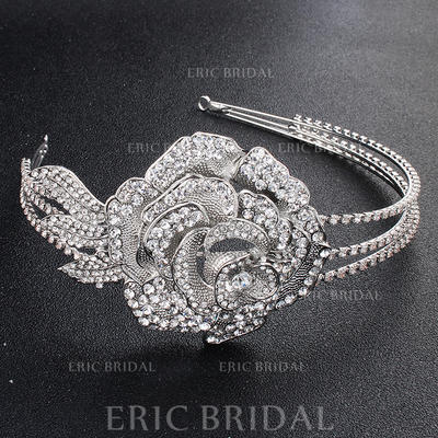 """Tiaras Wedding/Special Occasion/Party Alloy 13.78""""(Approx.35cm) 2.36""""(Approx.6cm) Headpieces (042157507)"""