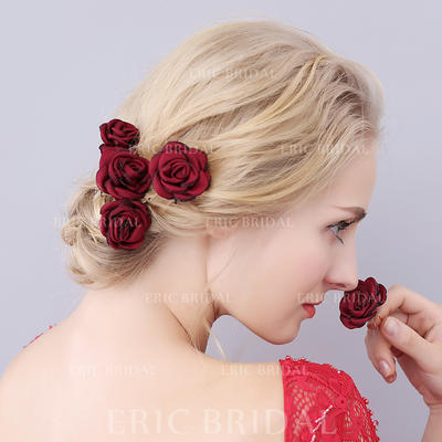"""Hairpins Wedding/Special Occasion/Casual/Outdoor/Party 3.54""""(Approx.9cm) 1.57""""(Approx.4cm) Beautiful Headpieces (042156995)"""