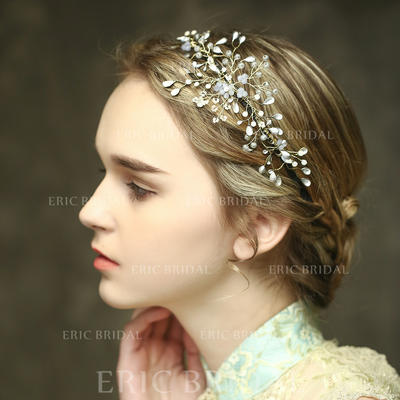 "Headbands Wedding/Special Occasion/Casual/Outdoor/Party Crystal 8.27""(Approx.21cm) 2.95""(Approx.7.5cm) Headpieces (042156633)"