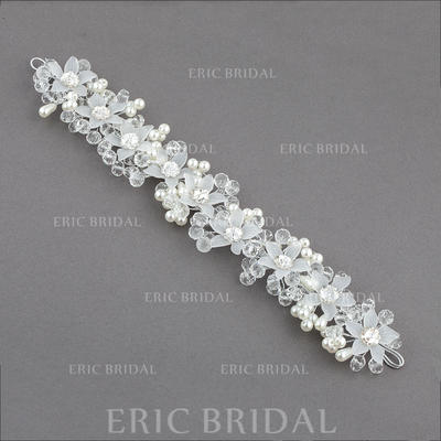 "Headbands Wedding/Special Occasion/Party Crystal/Imitation Pearls/Plastic 10.04""(Approx.25.5cm) 1.57""(Approx.4cm) Headpieces (042155728)"