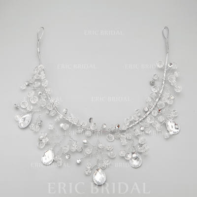 "Forehead Jewelry Wedding/Special Occasion/Party Alloy/Imitation Pearls 12.20""(Approx.31cm) 2.36""(Approx.6cm) Headpieces (042154834)"