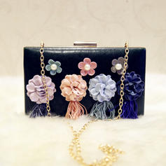 """Clutches Wedding/Ceremony & Party PU Charming 7.87""""(Approx.20cm) Clutches & Evening Bags"""