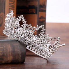 """Tiaras Wedding/Special Occasion/Party/Carnival Rhinestone/Alloy 5.31""""(Approx.13.5cm) 2.36""""(Approx.6cm) Headpieces"""