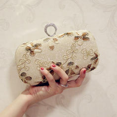 "Clutches Wedding/Ceremony & Party/Casual & Shopping/Office & Career PU Elegant 7.87""(Approx.20cm) Clutches & Evening Bags"