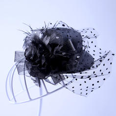 Elegante Tyll Fascinators