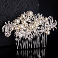 Combs & Barrettes Wedding/Special Occasion/Party/Carnival Rhinestone/Alloy Glamourous Ladies Headpieces