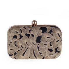 Clutches Ceremony & Party Alloy Snap Closure Elegant Clutches & Evening Bags