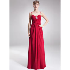 flowing mother of the bride dresses