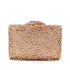 "Clutches/Satchel Wedding/Ceremony & Party Alloy Shining 6.3""(Approx.16cm) Clutches & Evening Bags"