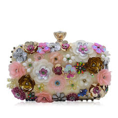 Clutches Wedding/Ceremony & Party Acrylic Snap Closure Elegant Clutches & Evening Bags