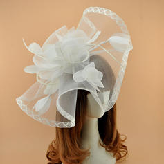 Damer' Klassisk stil Batist Fascinators