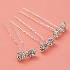 """Hairpins Wedding/Party Rhinestone/Alloy 0.98""""(Approx.2.5cm) 2.56""""(Approx.6.5cm) Headpieces"""