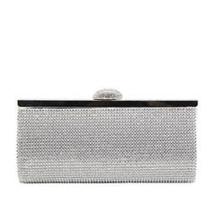 Clutches/Luxury Clutches Wedding/Ceremony & Party/Casual & Shopping/Office & Career Sparkling Glitter Snap Closure Elegant Clutches & Evening Bags