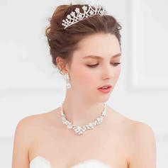 """Tiaras Wedding/Special Occasion Alloy 4.72""""(Approx.12cm) 2.76""""(Approx.7cm) Headpieces"""
