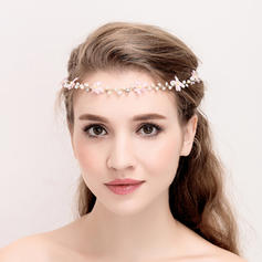"""Headbands Wedding/Special Occasion/Party Alloy/Imitation Pearls 14.57 """"(Approx.37cm) Beautiful Headpieces"""