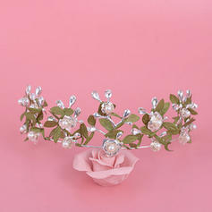 "Tiaras Wedding/Special Occasion Alloy 6.3""(Approx.16cm) 2.36""(Approx.6cm) Headpieces"