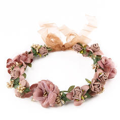 "Headbands Wedding/Outdoor/Party/Art photography Polyester 9.45""(Approx.24cm) 9.45 ""(Approx.24cm) Headpieces"