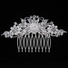 """Combs & Barrettes Wedding/Special Occasion/Party Alloy 3.94""""(Approx.10cm) 2.17""""(Approx.5.5cm) Headpieces"""