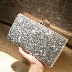 Clutches/Fashion Handbags Ceremony & Party Crystal/ Rhinestone/Sparkling Glitter Clip Closure Shining Clutches & Evening Bags