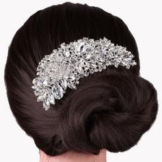 "Combs & Barrettes Wedding/Special Occasion Rhinestone/Alloy 4.92""(Approx.12.5cm) 2.56""(Approx.6.5cm) Headpieces"