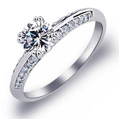 Rings Copper/Platinum Plated Ladies' Pretty Wedding & Party Jewelry