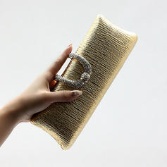 Clutches Wedding/Ceremony & Party Polyester Snap Closure Attractive Clutches & Evening Bags