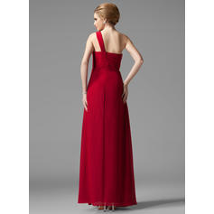 burgundy bridesmaid dresses long one shoulder