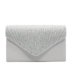 Clutches/Luxury Clutches Wedding/Ceremony & Party/Casual & Shopping/Office & Career Crystal/ Rhinestone Snap Closure Elegant Clutches & Evening Bags