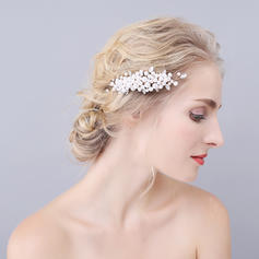 """Combs & Barrettes Wedding/Special Occasion Imitation Pearls 4.33""""(Approx.11cm) 2.36""""(Approx.6cm) Headpieces"""