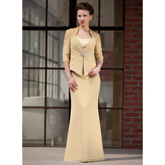 Trumpet/Mermaid Sweetheart Floor-Length Mother of the Bride Dresses