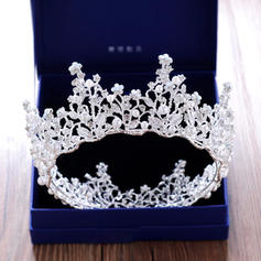 "Tiaras Wedding/Special Occasion/Party Rhinestone/Alloy 2.76""(Approx.7cm) 5.51""(Approx.14cm) Headpieces"