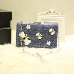 """Clutches Wedding/Ceremony & Party Alloy Delicate 7.87""""(Approx.20cm) Clutches & Evening Bags"""