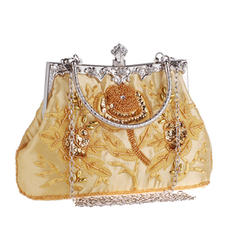 """Clutches Wedding/Ceremony & Party Embroidery Elegant 8.67""""(Approx.22cm) Clutches & Evening Bags"""