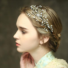 "Headbands Wedding/Special Occasion/Casual/Outdoor/Party Crystal 8.27""(Approx.21cm) 2.95""(Approx.7.5cm) Headpieces"
