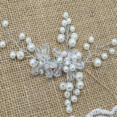 """Hairpins Wedding/Special Occasion/Casual/Outdoor/Party/Art photography Crystal/Rhinestone/Imitation Pearls 5.91""""(Approx.15cm) 5.91""""(Approx.15cm) Headpieces"""