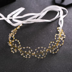 "Headbands Wedding/Special Occasion Crystal/Alloy 14.57 ""(Approx.37cm) 1.57""(Approx.4cm) Headpieces"