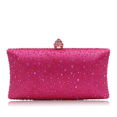 Clutches Wedding/Ceremony & Party Crystal/ Rhinestone Snap Closure Elegant Clutches & Evening Bags