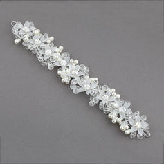 "Headbands Wedding/Special Occasion/Party Crystal/Imitation Pearls/Plastic 10.04""(Approx.25.5cm) 1.57""(Approx.4cm) Headpieces"