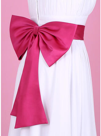 Women Satin With Bow Sash Nice Sashes & Belts