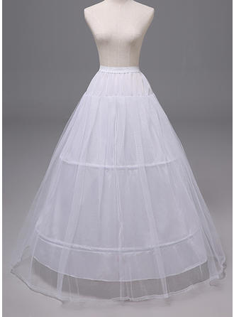 Petticoats Polyester A-Line Slip 2 Tiers Wedding Petticoats