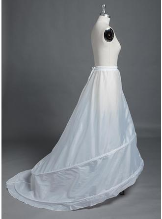 Petticoats Chapel Train Polyester Full Gown Slip 1 Tiers Petticoats