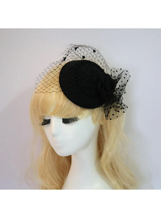 Net Yarn Fascinators Elegant/Charming Ladies' Hats