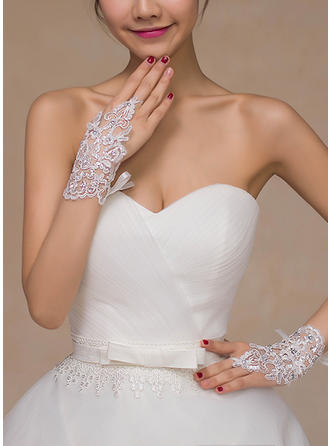 Lace Ladies' Gloves Bridal Gloves Fingerless 15cm(Approx.5.91inch) Gloves