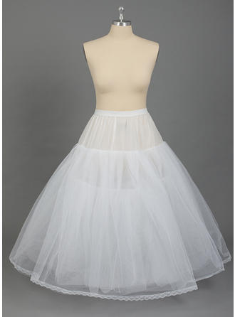 PLUS SIZE Petticoats Nylon/Tulle Netting Full Gown Slip 4 Tiers Special Occasion Petticoats